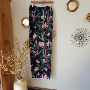 Eloquii Crepe Floral Pants  28w